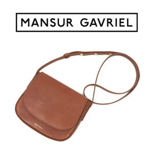 *SOLD* Mansur Gavriel Mini Crossbody Bag Brandy